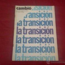 Coleccionismo de Revista Cambio 16: CAMBIO 16, NUM 206, NOVIEMBRE 1975: TRANSICION. Lote 51623474