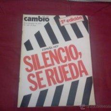 Coleccionismo de Revista Cambio 16: CAMBIO 16, NUM 201, OCTUBRE 1975: SILENCIO, SE RUEDA. Lote 51625269
