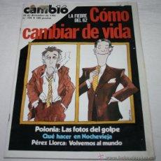 Coleccionismo de Revista Cambio 16: REVISTA CAMBIO 16 Nº 526 28 DE DICIEMBRE 1981. Lote 51767373