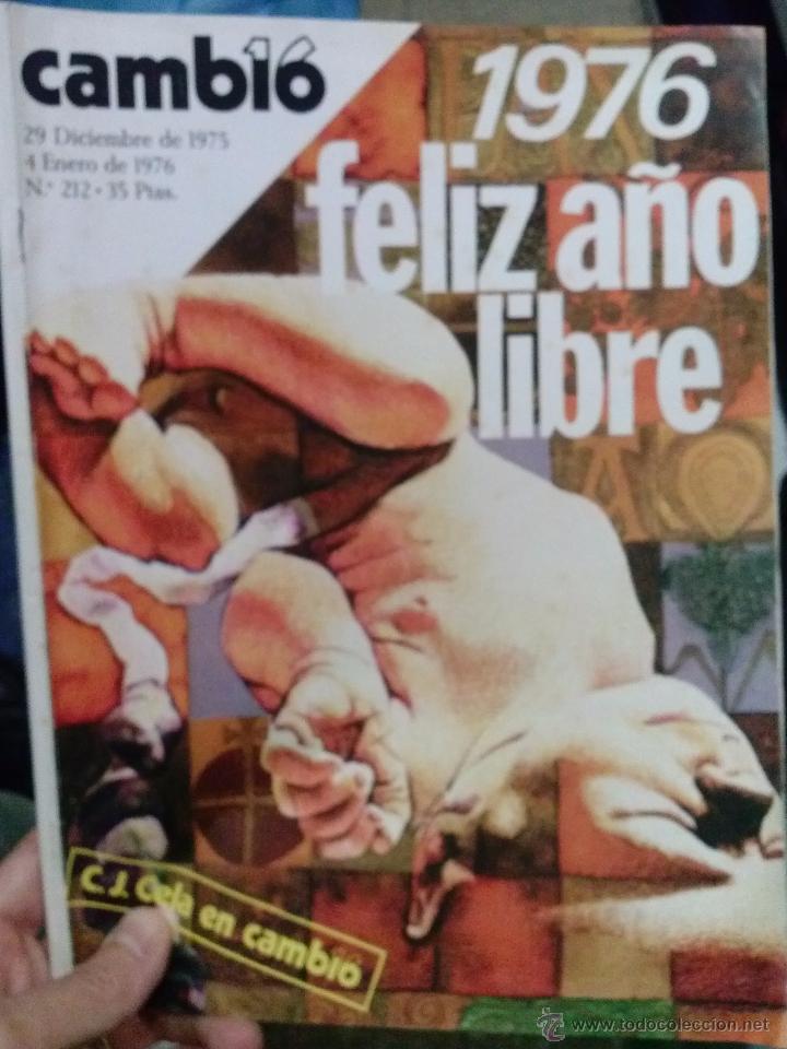 LOTE REVISTA CAMBIO 16 (Coleccionismo - Revistas y Periódicos Modernos (a partir de 1.940) - Revista Cambio 16)