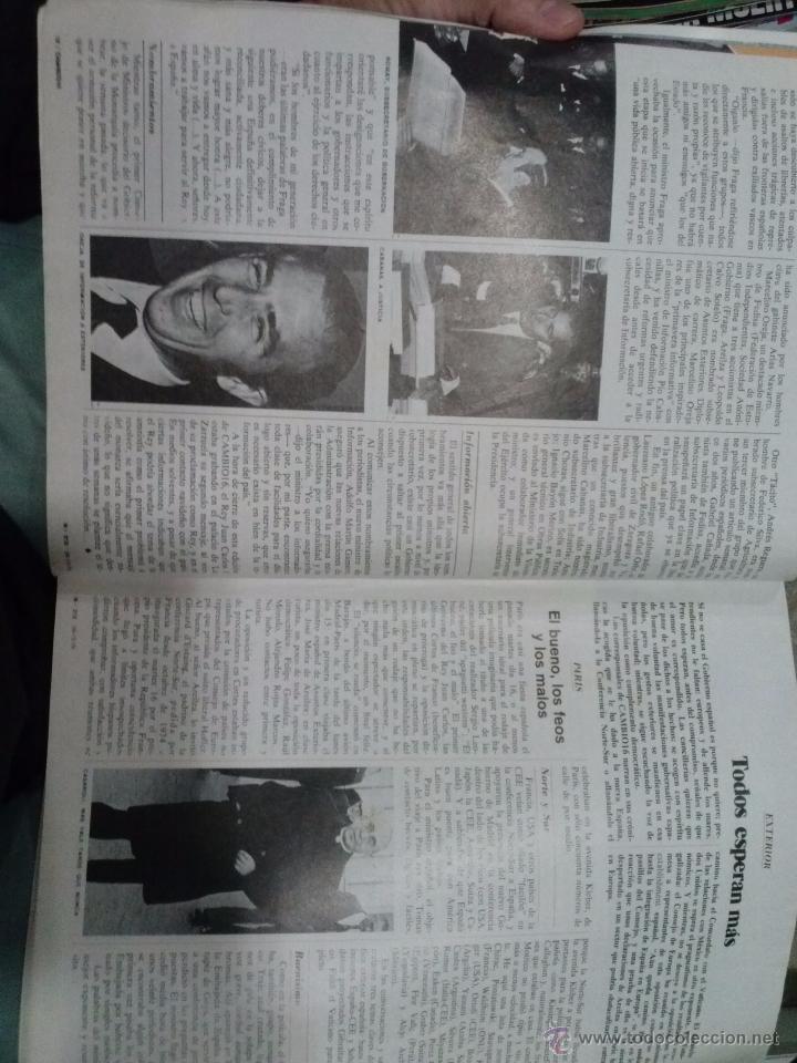 Coleccionismo de Revista Cambio 16: LOTE REVISTA CAMBIO 16 - Foto 2 - 52017865