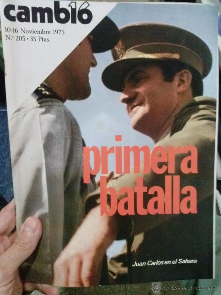 Coleccionismo de Revista Cambio 16: LOTE REVISTA CAMBIO 16 - Foto 3 - 52017865