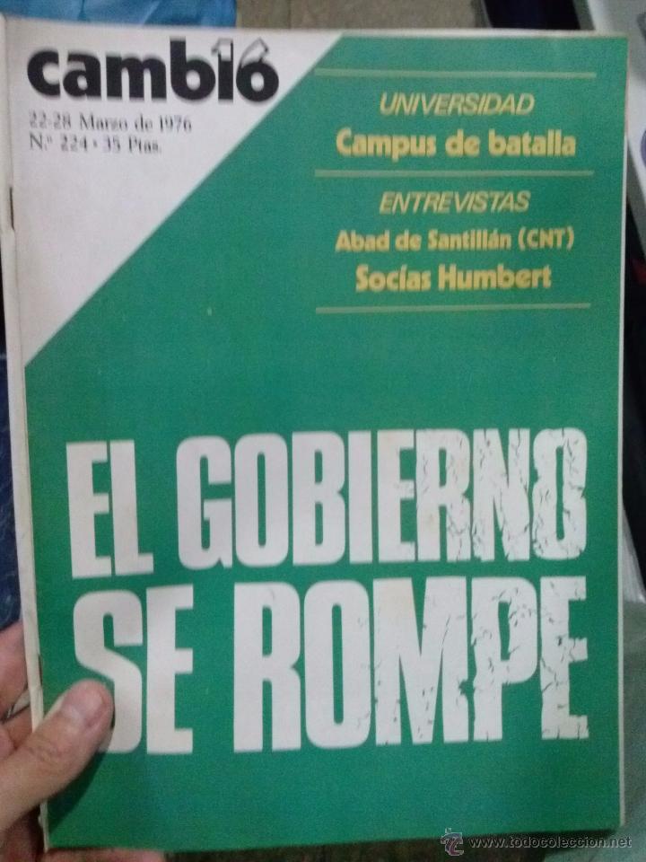 Coleccionismo de Revista Cambio 16: LOTE REVISTA CAMBIO 16 - Foto 4 - 52017865