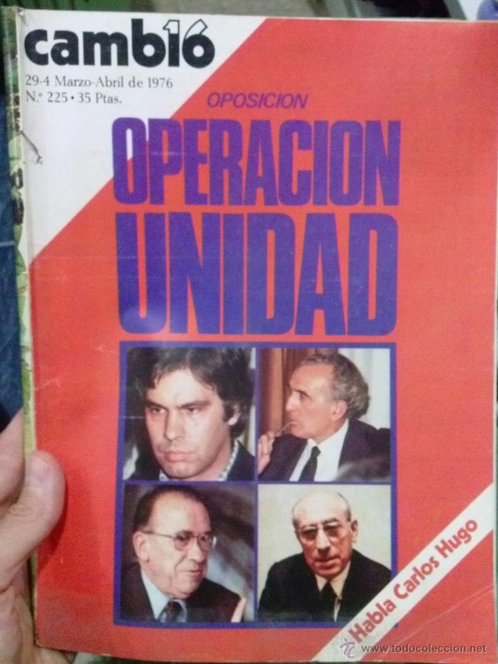 Coleccionismo de Revista Cambio 16: LOTE REVISTA CAMBIO 16 - Foto 5 - 52017865