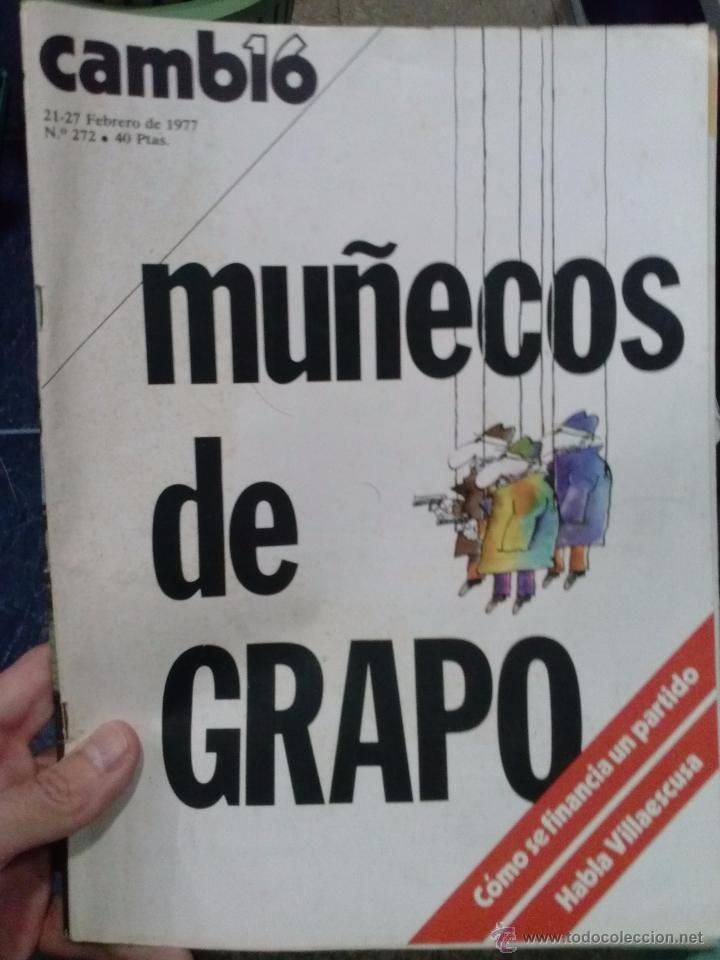 Coleccionismo de Revista Cambio 16: LOTE REVISTA CAMBIO 16 - Foto 6 - 52017865