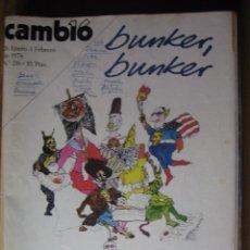 Coleccionismo de Revista Cambio 16: REVISTA CAMBIO 16.- NUMERO 216, 26 DE ENERO AL 1 DE FEBRERO DE 1976.- - TEXTO.-. Lote 52074952