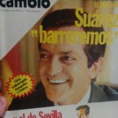Coleccionismo de Revista Cambio 16: CAMBIO 16 SUAREZ BARREREMOS ENTREVISTA CON EL PRESIDENTE SUAREZ . Lote 56460220