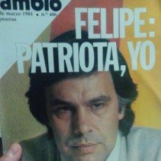 Coleccionismo de Revista Cambio 16: CAMBIO 16 FELIPE PATRIOTA YO . Lote 56460263
