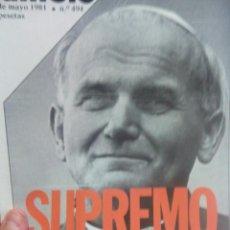 Coleccionismo de Revista Cambio 16: CAMBIO 16 SUPREMO ATENTADO . Lote 56460370