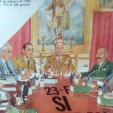 Coleccionismo de Revista Cambio 16: CAMBIO 16 23 F SI HUBIERAN GANADO. Lote 56460680