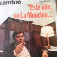 Coleccionismo de Revista Cambio 16: CAMBIO 16 Nº 335 DE 1978- FELIPE GONZALEZ, MAYO 68, MARIO VARGAS LLOSA, VER+.... Lote 57383464