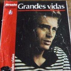Coleccionismo de Revista Cambio 16: COLECCIONABLE GRANDES VIDAS- JAMES DEAN- REVISTA PRONTO. Lote 57715936