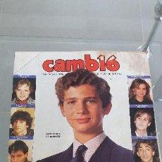 Coleccionismo de Revista Cambio 16: REVISTA AÑO 1986 CAMBIO 16 N° 740 PORTADA DON FELIPE DE BORBON LA GENERACIÓN DEL PRÍNCIPE REY. Lote 57873576