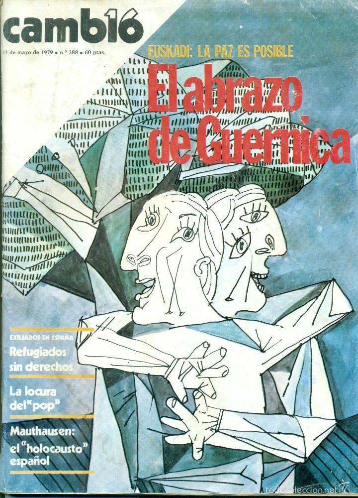 REVISTA CAMBIO 19 NÚMERO 388 DEL 13-05-1979 (Coleccionismo - Revistas y Periódicos Modernos (a partir de 1.940) - Revista Cambio 16)