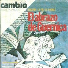 Coleccionismo de Revista Cambio 16: REVISTA CAMBIO 19 NÚMERO 388 DEL 13-05-1979. Lote 60988707