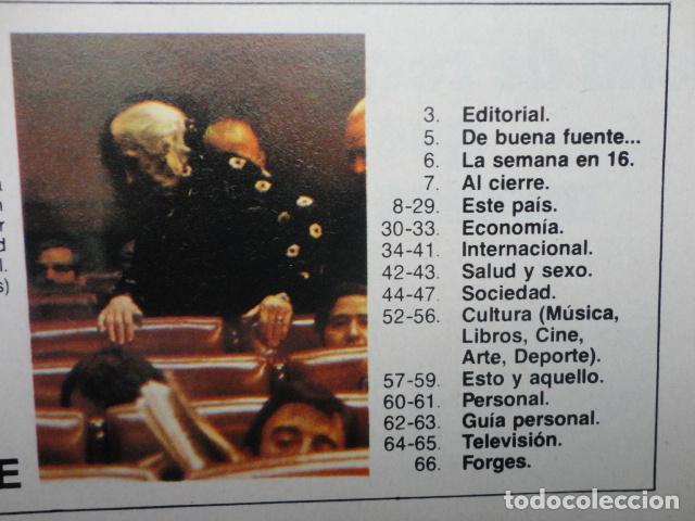 Coleccionismo de Revista Cambio 16: REVISTA CAMBIO 16 ,N º 295, 1977 ,AHORA ,LA CONSTITUCION -PRESOS Y PARTIDOS -ESPIONAJE ELECTORAL - Foto 2 - 70011785