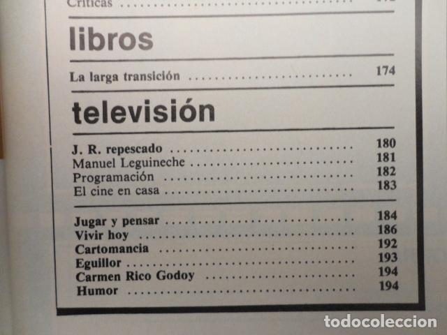 Coleccionismo de Revista Cambio 16: CAMBIO 16 ,Nº 566 , AÑO 1982 - EL TRIUNFO DE LA DEMOCRACIA -ETA -SUAREZ Y CARRILLO -BEIRUT -USA - Foto 5 - 70722449