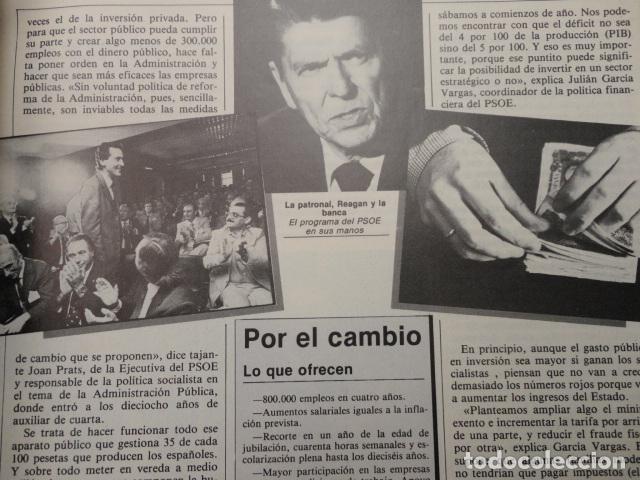 Coleccionismo de Revista Cambio 16: CAMBIO 16 ,Nº 566 , AÑO 1982 - EL TRIUNFO DE LA DEMOCRACIA -ETA -SUAREZ Y CARRILLO -BEIRUT -USA - Foto 7 - 70722449