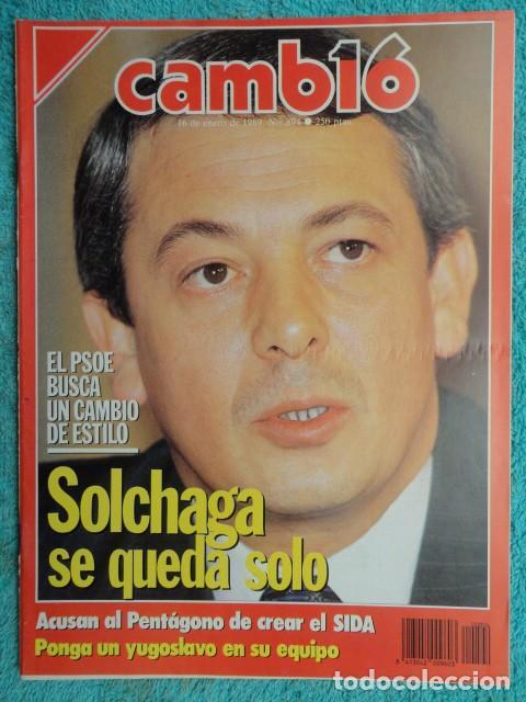 REVISTA CAMBIO 16 ,Nº 894 AÑO 1989 -ESPAÑA MENOS CATOLICA -LIBANO -FIDEL CASTRO -SOLCHAGA (Coleccionismo - Revistas y Periódicos Modernos (a partir de 1.940) - Revista Cambio 16)
