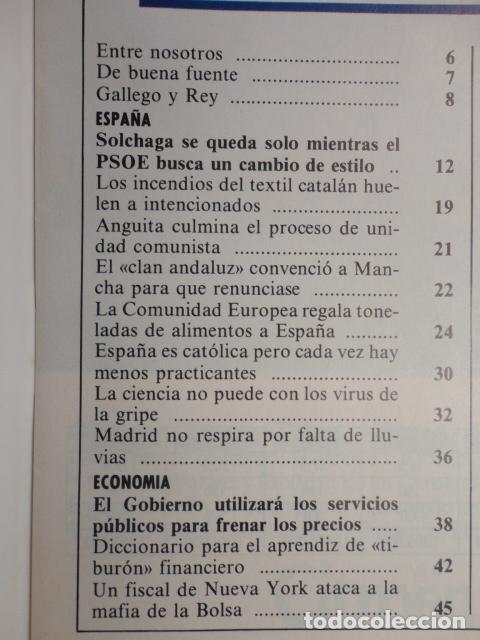 Coleccionismo de Revista Cambio 16: REVISTA CAMBIO 16 ,Nº 894 AÑO 1989 -ESPAÑA MENOS CATOLICA -LIBANO -FIDEL CASTRO -SOLCHAGA - Foto 2 - 70757657
