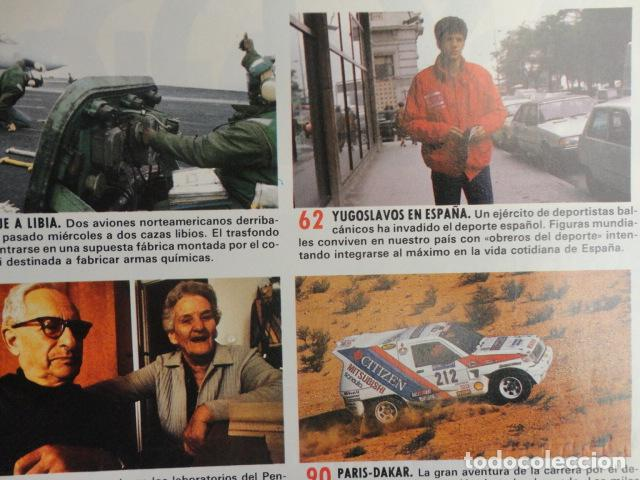 Coleccionismo de Revista Cambio 16: REVISTA CAMBIO 16 ,Nº 894 AÑO 1989 -ESPAÑA MENOS CATOLICA -LIBANO -FIDEL CASTRO -SOLCHAGA - Foto 5 - 70757657
