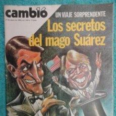 Coleccionismo de Revista Cambio 16: REVISTA CAMBIO 16 ,Nº 425 AÑO 1980 -LA CUESTA MAS LARGA -ETA SIGUE -UCD -EL MAGO SUAREZ -AFGANISTAN. Lote 70791153
