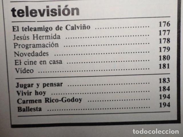 Coleccionismo de Revista Cambio 16: REVISTA DIARIO 16 ,Nº 676 AÑO 1984 - RECONVERSION -ETA -LA OTAN -PSOE ,CORRUPCIONES -PAUL McCARTNEY - Foto 5 - 99730784