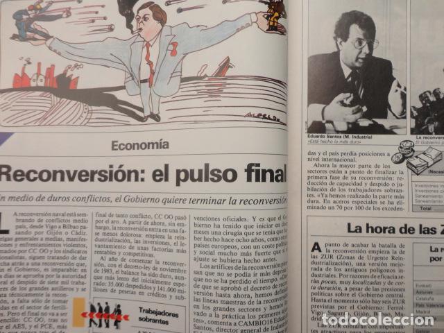 Coleccionismo de Revista Cambio 16: REVISTA DIARIO 16 ,Nº 676 AÑO 1984 - RECONVERSION -ETA -LA OTAN -PSOE ,CORRUPCIONES -PAUL McCARTNEY - Foto 7 - 99730784