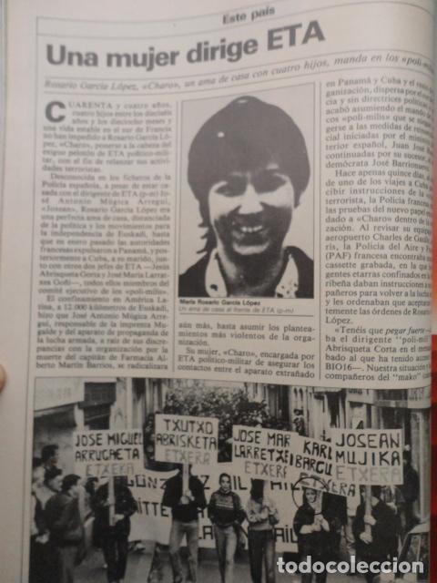 Coleccionismo de Revista Cambio 16: REVISTA DIARIO 16 ,Nº 676 AÑO 1984 - RECONVERSION -ETA -LA OTAN -PSOE ,CORRUPCIONES -PAUL McCARTNEY - Foto 9 - 99730784
