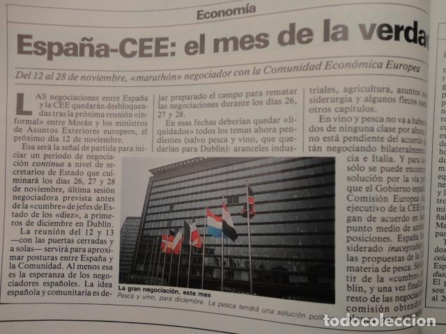 Coleccionismo de Revista Cambio 16: REVISTA DIARIO 16 ,Nº 676 AÑO 1984 - RECONVERSION -ETA -LA OTAN -PSOE ,CORRUPCIONES -PAUL McCARTNEY - Foto 11 - 99730784