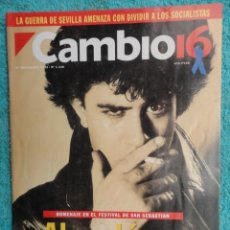 Coleccionismo de Revista Cambio 16: REVISTA CAMBIO 16 Nº 1140 AÑO 1993 -CRISIS PSOE -REBELLIO A LES AULES -MANUEL FRAGA -JERICO,. Lote 71250459