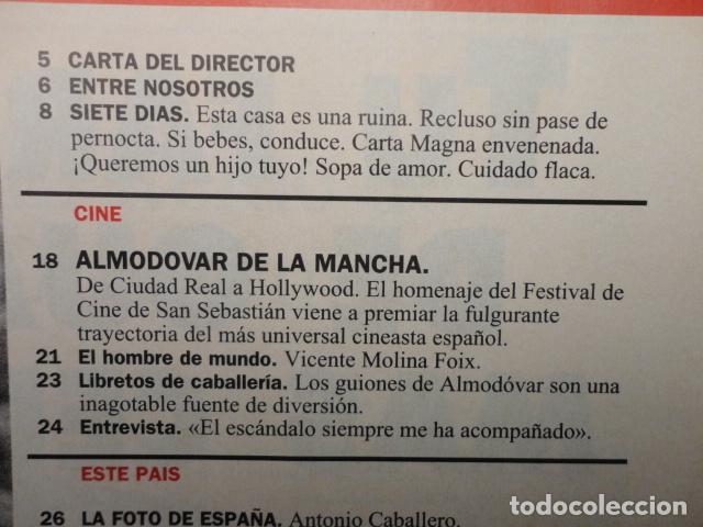 Coleccionismo de Revista Cambio 16: REVISTA CAMBIO 16 Nº 1140 AÑO 1993 -CRISIS PSOE -REBELLIO A LES AULES -MANUEL FRAGA -JERICO, - Foto 2 - 71250459