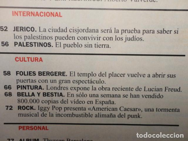 Coleccionismo de Revista Cambio 16: REVISTA CAMBIO 16 Nº 1140 AÑO 1993 -CRISIS PSOE -REBELLIO A LES AULES -MANUEL FRAGA -JERICO, - Foto 4 - 71250459
