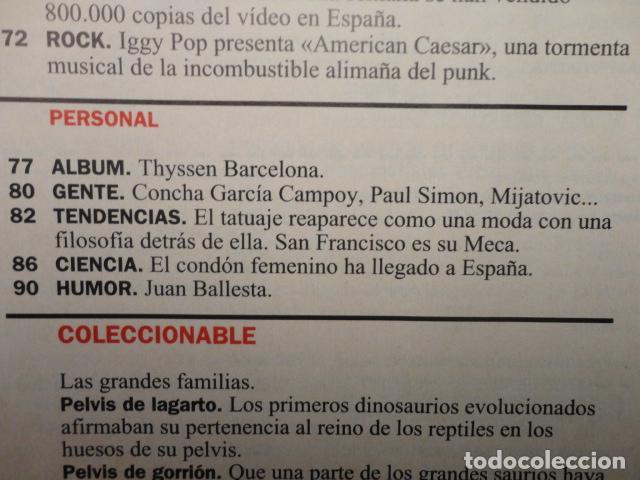 Coleccionismo de Revista Cambio 16: REVISTA CAMBIO 16 Nº 1140 AÑO 1993 -CRISIS PSOE -REBELLIO A LES AULES -MANUEL FRAGA -JERICO, - Foto 5 - 71250459