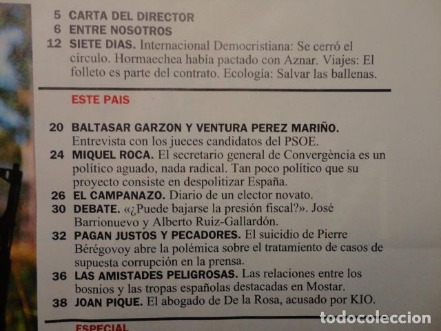Coleccionismo de Revista Cambio 16: CAMBIO 16,Nº 1121 (1993) EL PARO -FILESA -IMPUESTOS- PRESION FISCAL -MEJOR ESTADO,NO MAS ESTADO-BOSE - Foto 2 - 71261559