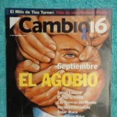 Coleccionismo de Revista Cambio 16: CAMBIO 16 Nº 1137 AÑO 1993 - EL AGOBIO- AZNAR ATACA -PACTAR LA CRISIS --FRAGA -PUJOL -TINA TURNER. Lote 71286827