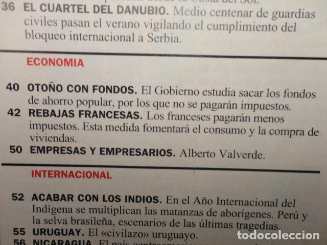 Coleccionismo de Revista Cambio 16: CAMBIO 16 Nº 1137 AÑO 1993 - EL AGOBIO- AZNAR ATACA -PACTAR LA CRISIS --FRAGA -PUJOL -TINA TURNER - Foto 4 - 71286827