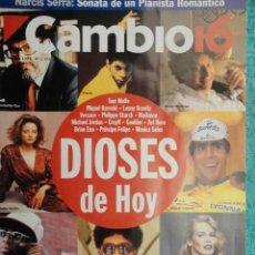 Coleccionismo de Revista Cambio 16: REVISTA CAMBIO 16 ,Nº 1131 - EL FUTURO YA ESTA AQUI -NARCOTRAFICO -NARCIS SERRA -DIOSES DE HOY. Lote 71311791