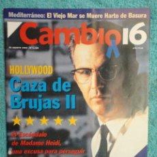 Coleccionismo de Revista Cambio 16: REVISTA CAMBIO 16 ,Nº 1136 AÑO 1993 -AZNAR - HOLLYWOOD -SUPERLOPEZ -ESTAMBUL ,ARO ,DE EUROPA. Lote 71342079
