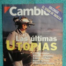 Coleccionismo de Revista Cambio 16: REVISTA CAMBIO 16 Nº 1129 AÑO 1993 -UTOPIAS -SOLCHAGA -RETOS DE FELIPE -CLINTON - CUBA -LOS KURDOS-. Lote 71387019