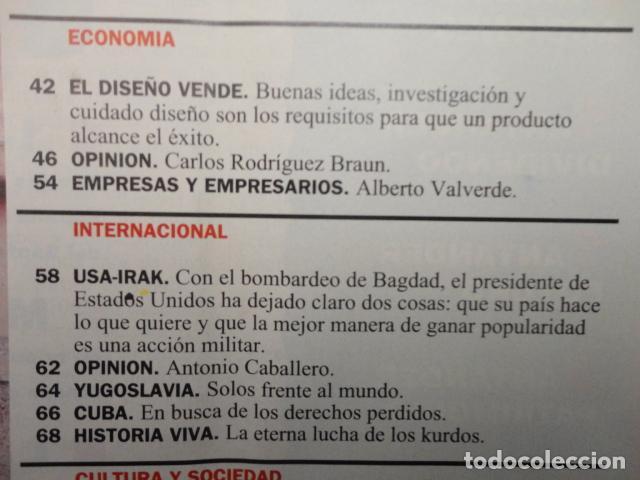 Coleccionismo de Revista Cambio 16: REVISTA CAMBIO 16 Nº 1129 AÑO 1993 -UTOPIAS -SOLCHAGA -RETOS DE FELIPE -CLINTON - CUBA -LOS KURDOS- - Foto 4 - 71387019