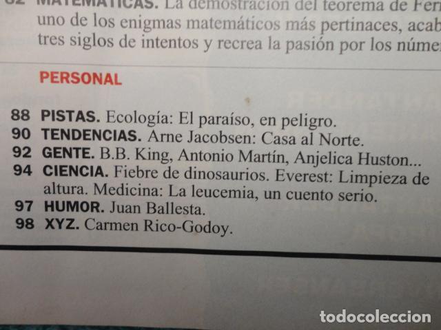 Coleccionismo de Revista Cambio 16: REVISTA CAMBIO 16 Nº 1129 AÑO 1993 -UTOPIAS -SOLCHAGA -RETOS DE FELIPE -CLINTON - CUBA -LOS KURDOS- - Foto 6 - 71387019