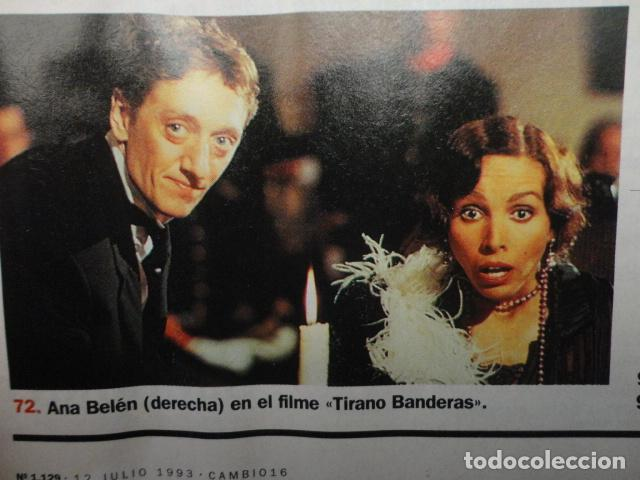 Coleccionismo de Revista Cambio 16: REVISTA CAMBIO 16 Nº 1129 AÑO 1993 -UTOPIAS -SOLCHAGA -RETOS DE FELIPE -CLINTON - CUBA -LOS KURDOS- - Foto 8 - 71387019