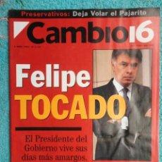 Coleccionismo de Revista Cambio 16: REVISTA CAMBIO 16 Nº 1115 AÑO 1993 -FELIPE ,TOCADO -EL KREMLIN AL ROJO -KIO -FRANCIA ADIOS SOCIALIS. Lote 71401991