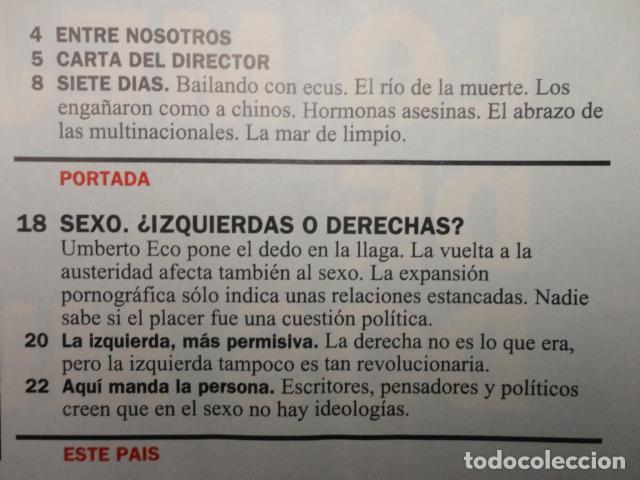 Coleccionismo de Revista Cambio 16: REVISTA CAMBIO 16 ,Nº 1132 -DEFICIT DEMOCRATICO -SEXO -ESPAÑA DESIGUAL -EL ESTADO SOCIAL - GAYS - Foto 2 - 71404715