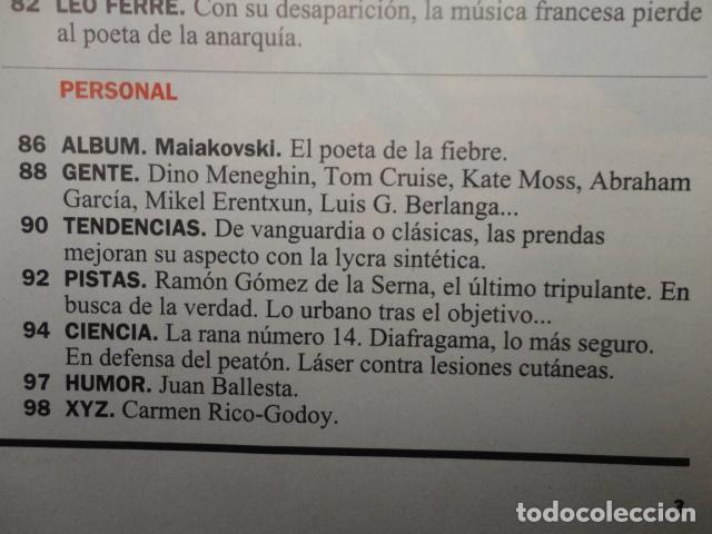 Coleccionismo de Revista Cambio 16: REVISTA CAMBIO 16 ,Nº 1132 -DEFICIT DEMOCRATICO -SEXO -ESPAÑA DESIGUAL -EL ESTADO SOCIAL - GAYS - Foto 6 - 71404715