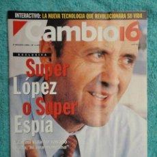 Coleccionismo de Revista Cambio 16: REVISTA CAMBIO 16 ,Nº 1133 ,AÑO 1993 -SUPER LOPEZ -TORRES KIO -CRISIS EN ITALIA -BOSNIA -MARIO CONDE. Lote 71407019