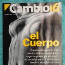Coleccionismo de Revista Cambio 16: REVISTA CAMBIO 16 ,Nº 1134 AÑO 1993 - EL EJERCITO DEL AÑO 2000 -BARATA LA PESETA -PARLEM CATALA. Lote 71410747