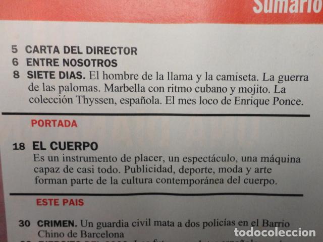 Coleccionismo de Revista Cambio 16: REVISTA CAMBIO 16 ,Nº 1134 AÑO 1993 - EL EJERCITO DEL AÑO 2000 -BARATA LA PESETA -PARLEM CATALA - Foto 2 - 71410747