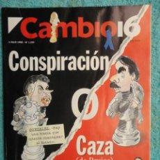Coleccionismo de Revista Cambio 16: REVISTA CAMBIO 16 ,Nº 1232 AÑO 1995 -JAQUE A FELIPE -CASO CESID - EUSKADI -YELTSIN -SAHARA -. Lote 71412407